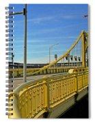 Pittsburgh - Roberto Clemente Bridge Spiral Notebook