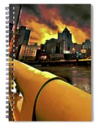 Pittsburgh Skyline Spiral Notebook