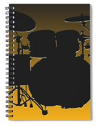 Pittsburgh Steelers Drum Set Spiral Notebook