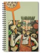 Pizza Chef Quickfire Spiral Notebook