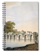 Pl. 34 A View Of The Bridge Spiral Notebook