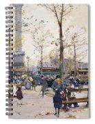 Place De La Bastille Paris Spiral Notebook