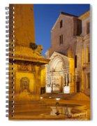Place De La Republique Spiral Notebook