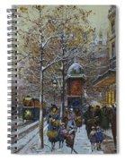 Place De La Republique Paris Spiral Notebook