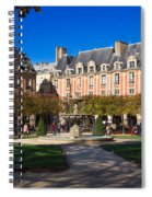 Place Des Vosges Paris Spiral Notebook