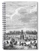 Place Louis Xv, 1763 Spiral Notebook