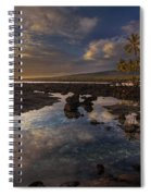 Place Of Refuge Sunset Reflection Spiral Notebook