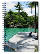 Place To Swim   Spiral Notebook