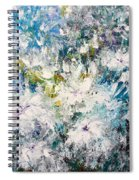 Place Where The Flowers Bloom Forever Spiral Notebook