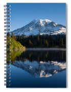 Placid Reflection Spiral Notebook
