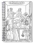 Plague, 1500 Spiral Notebook