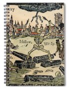 Plague Of London, 1665 Spiral Notebook