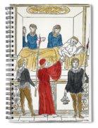 Plague Patient, 1500 Spiral Notebook