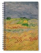 Plain At Auvers Spiral Notebook