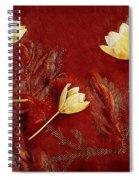 Plain Flowers Pop Art Spiral Notebook