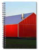 Plain Jane Red Barn Spiral Notebook
