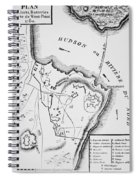 Plan Of West Point Spiral Notebook