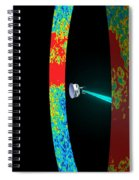 Planck Space Observatory Scanning Spiral Notebook
