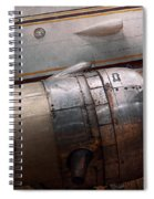 Plane - A Little Rough Around The Edges Spiral Notebook