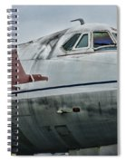 Plane Capital Airlines Spiral Notebook