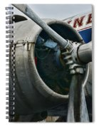 Plane Check Your Engine Spiral Notebook