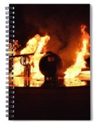 Plane Heats Up Spiral Notebook