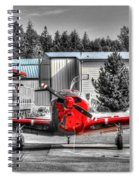 Flying To Lunch In Pacific Northwest Washington  Spiral Notebook
