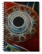Plane Old Wooden Prop Spiral Notebook
