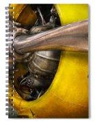 Plane - Pilot - Prop - Twin Wasp Spiral Notebook