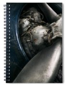 Plane - Pilot - Prop - You Are Clear To Go Spiral Notebook