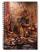 Plane - The Dawn Of Aviation Spiral Notebook