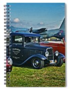 Planes And Cars Spiral Notebook