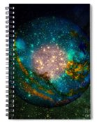 Planet Disector Shadows Spiral Notebook
