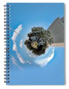 Planet Randolph Afb Spiral Notebook