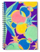 Planets And Stars Spiral Notebook