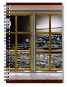 Planetscape Spiral Notebook