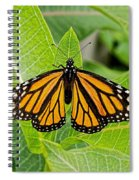 Plant Milkweed And Save The Monarch Butterfly Spiral Notebook