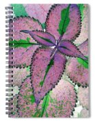 Plant Pattern - Photopower 1211 Spiral Notebook