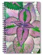 Plant Pattern - Photopower 1212 Spiral Notebook