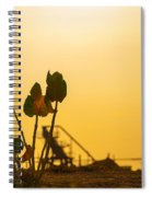 Plant Silhouette Spiral Notebook