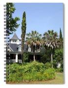Plantation Home At Magnolia Plantation Spiral Notebook