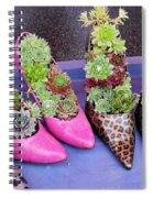 Plants In Pumps Spiral Notebook