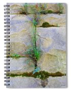 Plants In The Brick Wall Spiral Notebook