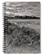 Plants On The Alvord Desert Spiral Notebook