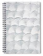 Plaster Pattern Spiral Notebook