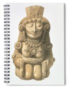 Plate From Ancient Monuments Of Mexico Spiral Notebook