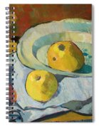 Plate Of Apples Spiral Notebook