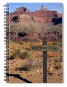 Plateau Point Grand Canyon Spiral Notebook