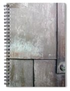 Plated Metal Texture Spiral Notebook