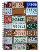Plates Spiral Notebook